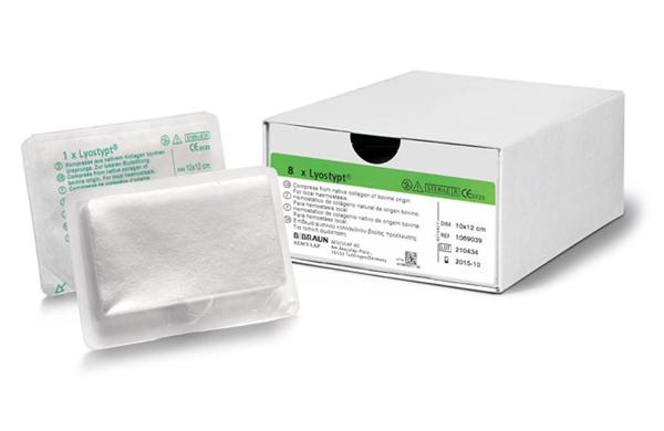 Lyostypt® to środek do miejscowej hemostazy - 3 x 5 cm