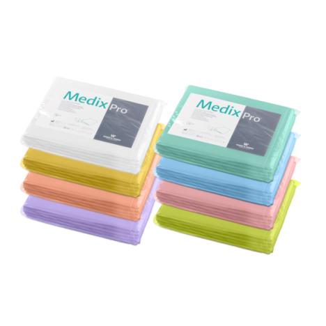 Prześcieradła medyczne bibułowo foliowe MedixPro 77x210 cm - 5 szt.