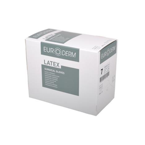 Rękawice chirurgiczne Euroderm MC bezpudrowe rozm. 7 - 1 para