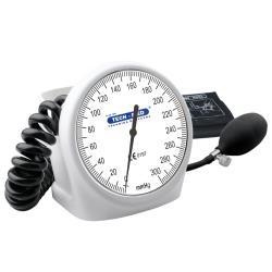 Ciśnieniomierz zegarowy TM-H biały