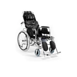 Wózek inwalidzki stabilizujący plecy i głowę z funkcją toaletową roz. 46 cm