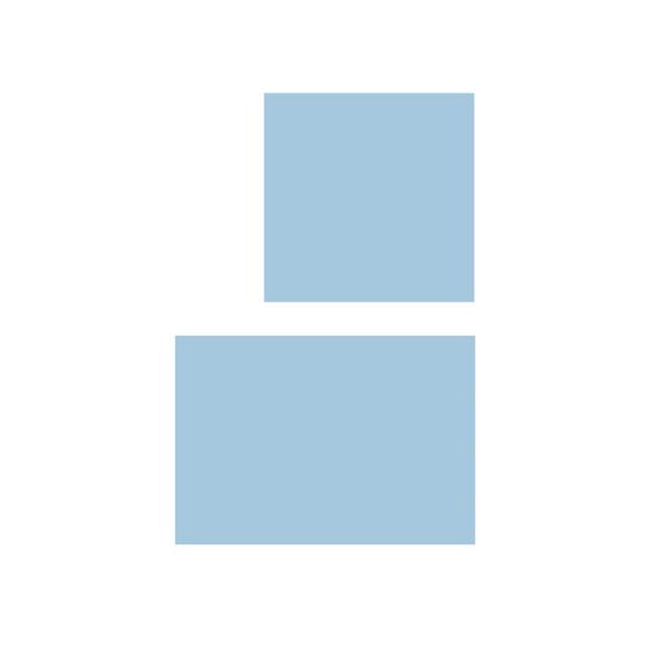Serweta włókninowa 2 warstwowa jałowa 75 x 90 cm