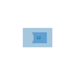 Serweta artroskopowa ZR 200 x 320 cm, z elastycznym otworem samouszczelniającym 6 x 8 cm
