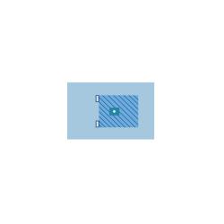 Serweta chirurgiczna ZR 200 x 300 cm, z elastycznym otworem samouszczelniającym ⌀ 3,5 cm