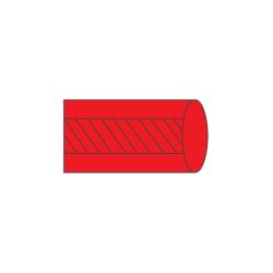 Serweta na stolik MAYO, wzmocniona 80 x 140 cm, czerwona