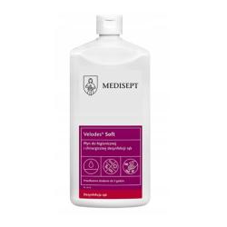 Velodes soft 1L - płyn do dezynfekcji rąk