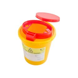 Pojemnik na ostre odpady medyczne UNIVERSAL 1L żółty