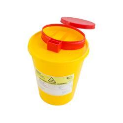 Pojemnik na ostre odpady medyczne STANDARD 1,5L żółty