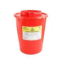 Pojemnik na ostre odpady medyczne STANDARD 3L czerwony