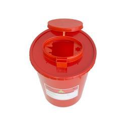 Pojemnik na ostre odpady medyczne UNIVERSAL 3L czerwony