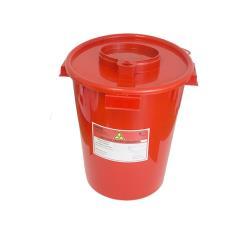 Pojemnik na ostre odpady medyczne UNIVERSAL 6L czerwony