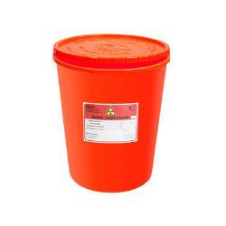 Pojemnik na odpady medyczne 3L czerwony