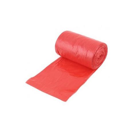 Worek do gromadzenia i przechowywania odpadów medycznych, 500 x 600 mm, 30 L czerwony