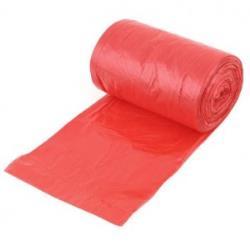 Worek do gromadzenia i przechowywania odpadów medycznych, 700 x 800 mm, 60 L, czerwony (1 szt.)