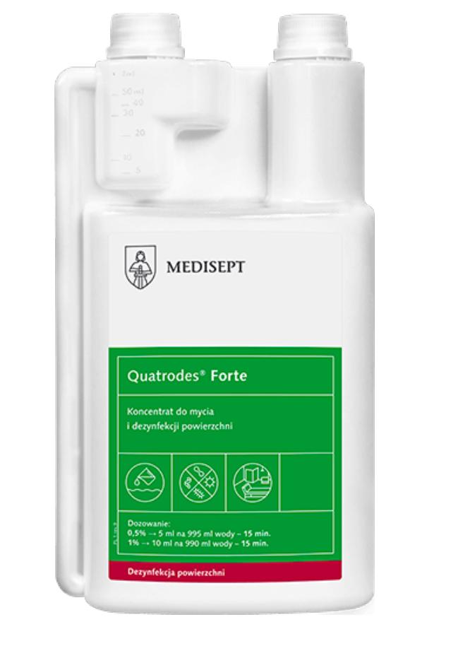 Quatrodes Forte 1L z dozownikiem