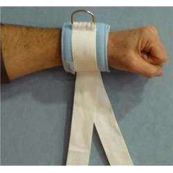 Pas na nadgarstek lub kostkę z metalową sprzączką (2 szt.)