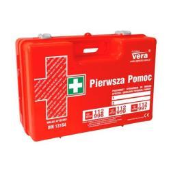 """Przemysłowa apteczka pierwszej pomocy """"Top 15 Plus"""" 13164 w walizce z tworzywa ABS"""