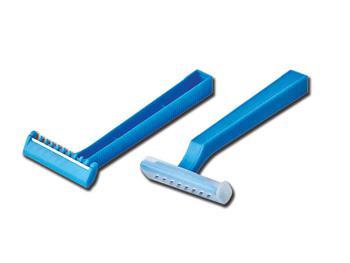 Jednorazowe maszynki do golenia z pojedynczym ostrzem - 100 szt.