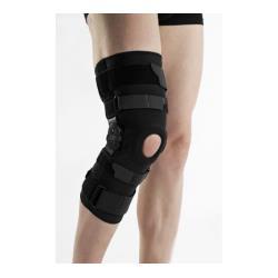 Stabilizator stawu kolanowego z szynami zamknięty - rozm XL