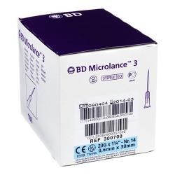 Igły BD Microlance 0,6 x 30 - 100 szt.