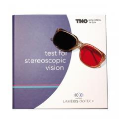 Stereotest TNO - komplet z okularami