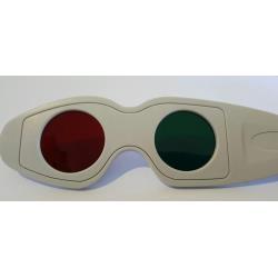 Okulary czerwono-zielone do testu TNO