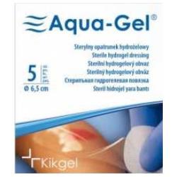 Sterylny opatrunek hydrożelowy Aqua- Gel, Ø 5 cm, 1 op.