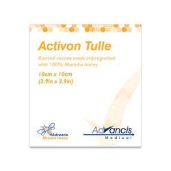 Opatrunek Activon Tulle do leczenia ran z miodem MANUKA 10 x 10 cm, 1 op.