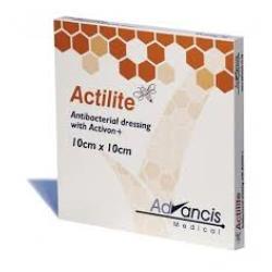 Siatkowy opatrunek Actilite do leczenia ran z miodem MANUKA 10 x 10 cm, 1 szt.
