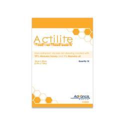 Siatkowy opatrunek Actilite do leczenia ran z miodem MANUKA 10 x 20 cm, 1 op.