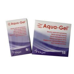 Sterylny opatrunek hydrożelowy Aqua- Gel, owal 5,5 x 11 cm