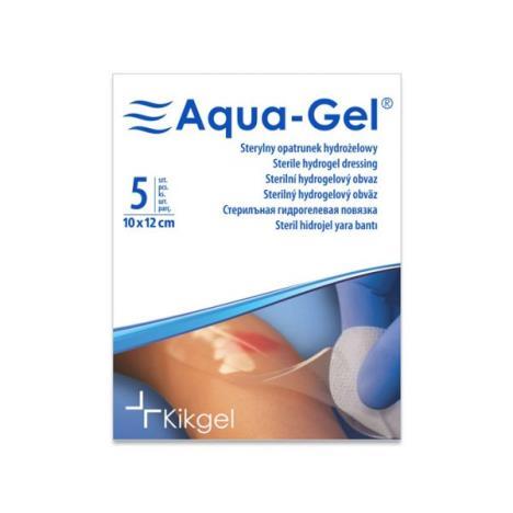 Sterylny opatrunek hydrożelowy Aqua- Gel, 10 x 12 cm, 1 szt.