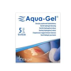 Sterylny opatrunek hydrożelowy Aqua- Gel, 12 x 12 cm, 1 szt.
