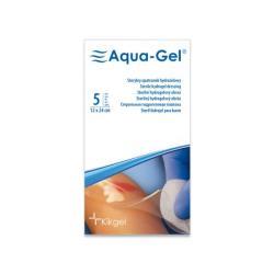 Sterylny opatrunek hydrożelowy Aqua- Gel, 12 x 24 cm, 1 op.