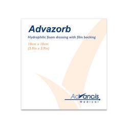 Opatrunki silnie absorpcyjne Advazorb 10 cm x 10 cm, 1 szt.