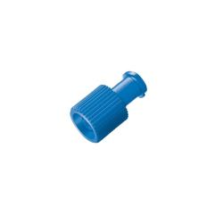 Koreczek luer lock niebieski - 100 szt.