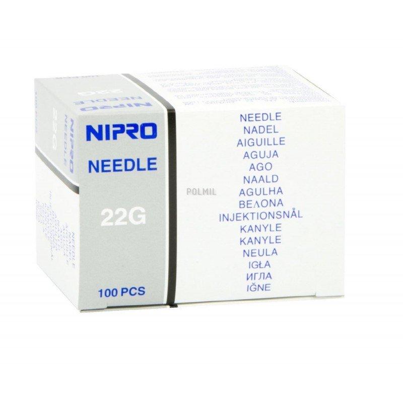 NIPRO 0,7 x 32 - igły iniekcyjne