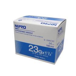 NIPRO 0,6 x 25 - igły iniekcyjne