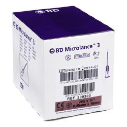 Igły BD Microlance 0,45 x 16 - 100 szt.