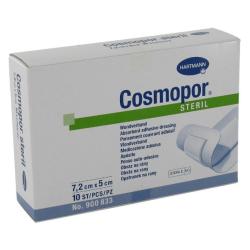 Opatrunek pooperacyjny jałowy Cosmopore E 7,2 cm x 5 cm, op. 50 szt.