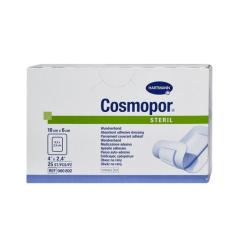 Opatrunek pooperacyjny jałowy Cosmopore E 10 cm x 6 cm, op. 25 szt.