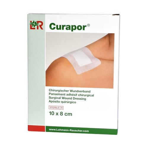 Curapor Transparent 10 x 8 cm chirurgiczny opatrunek jałowy, 5 szt.