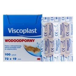 Viscoplast Plastry wodoodporne box 100 szt.