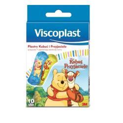 Viscoplast Plastry dla dzieci Kubuś Puchatek, 10 szt.