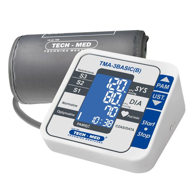 Ciśnieniomierz elektroniczny TMA-3BASIC + zasilacz