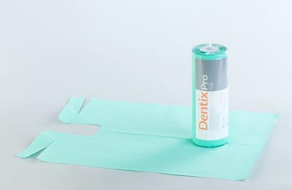Śliniak bibułowo-foliowo DentixPro Plus - 1 rolka (30 szt.)