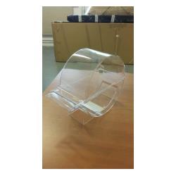 Akrylowy podajnik płatków celulozowych