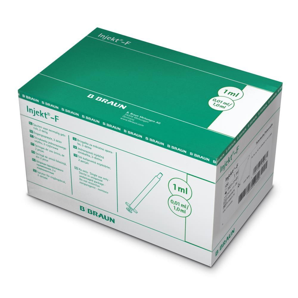 Strzykawki INJEKT-F SOLO - 1 ml