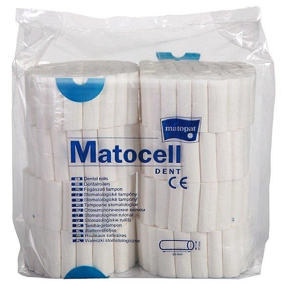 Wałeczki stomatologiczne celulozowe MATOCELL DENT o średnicy 12 mm