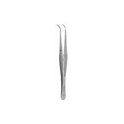 Pinceta okulistyczna odgięta, dł. 100 mm